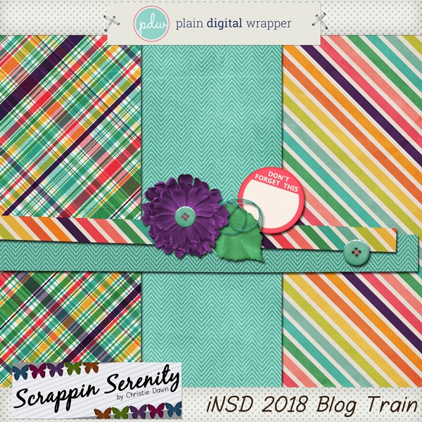 Have a Happy iNSD with a PDW Blog Train!